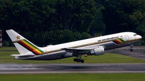 Na pokładzie linii lotniczych Air Zimbabwe wylała toaleta?