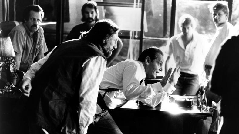 Az 1990-es Cinikus hekust Jack Nicholson (jobbra) rendezte,  Zsigmond Vilmos pedig fényképezte / Fotó: Profimedia-Reddot