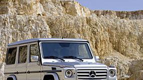 Mercedes-Benz G – odmłodzony terenowy staruszek