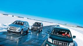 Duży może więcej: Mercedes ML kontra Mitsubishi Pajero i Toyota Land Cruiser