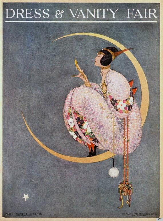 Okładka Dress & Vanity Fair z 1913 roku