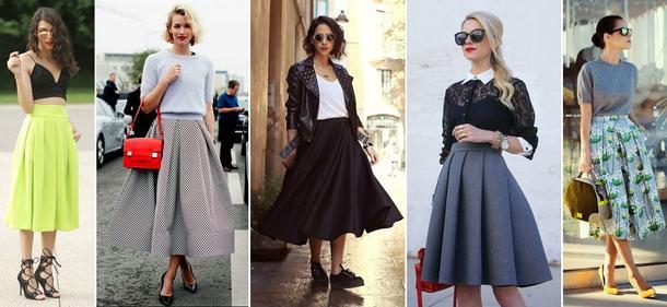 5 sposobów na spódnicę w stylu retro!