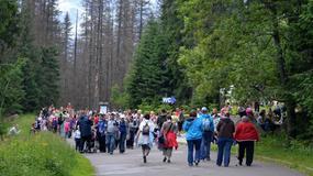 Tatry - lipcowe tłumy na szlakach