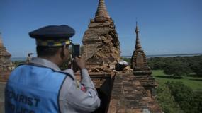 Birma: trzęsienie o sile 6,8 zniszczyło część świątyń w Baganie