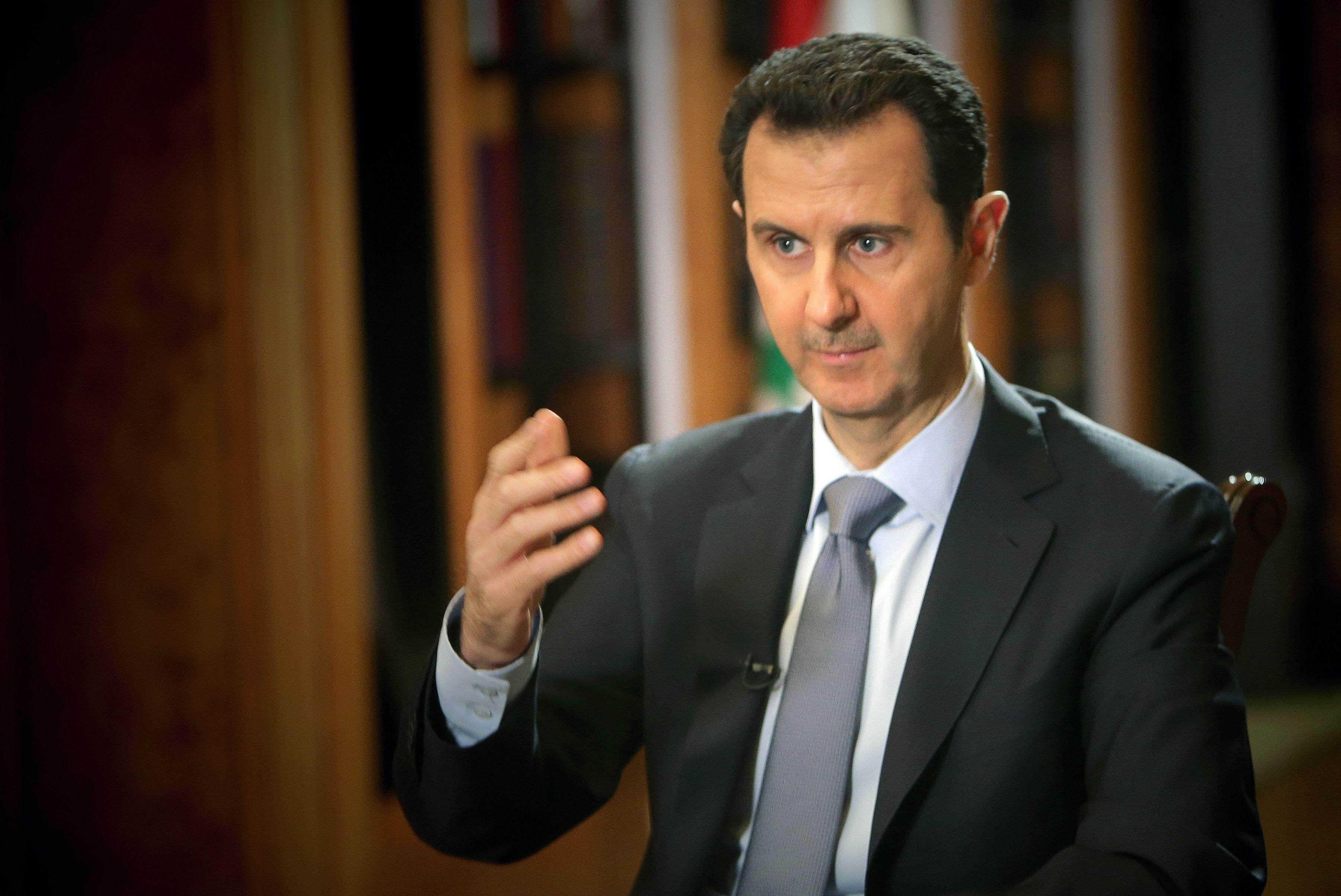 Znalezione obrazy dla zapytania Baszszar al-Asad