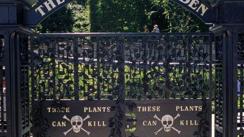 Alnwick, Trujący Ogród (Poison Garden)