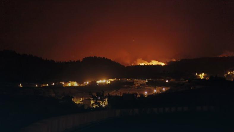 Pożar w Hiszpani, fot.AFP PHOTO / Desiree Martin