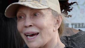 74-letnia Faye Dunaway bez makijażu