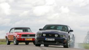 Ford Mustang I kontra Mustang V: klub koni mechanicznych