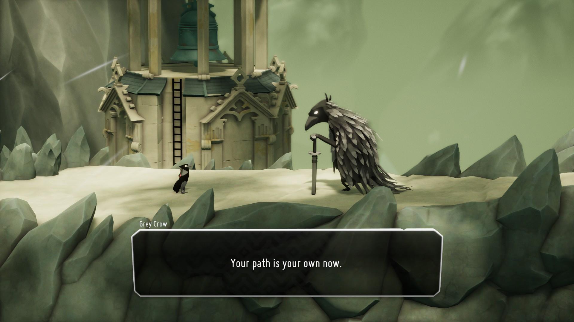 Vitaj na podivnom mieste, v ktorom je hlavným protagonistom vrana-smrtka.