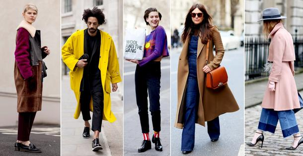 STREET STYLE NA London Fashion Week - F/W 2015/16