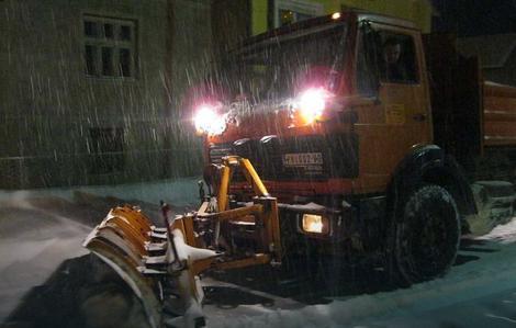 Čišćenje ulica u Jagodini