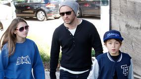 Jude Law z dziećmi na zakupach