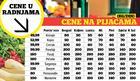 ISTRAŽUJEMO Napumpane cene povrća, jeftinije u radnjama nego na pijaci