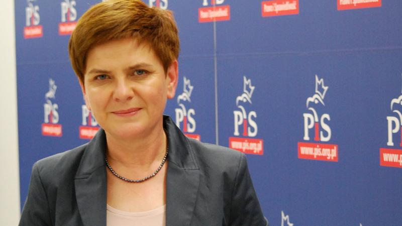 Beata Szydło,fot.Żaneta Gotowalska/Onet
