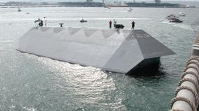 Sea Shadow - eksperymentalna jednostka, niewidzialna dla radarów