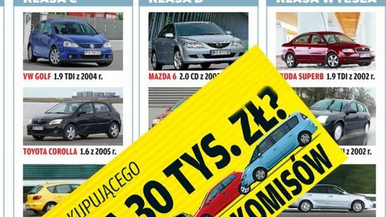 Używane auto za 30 000 zł. 50 najlepszych propozycji!