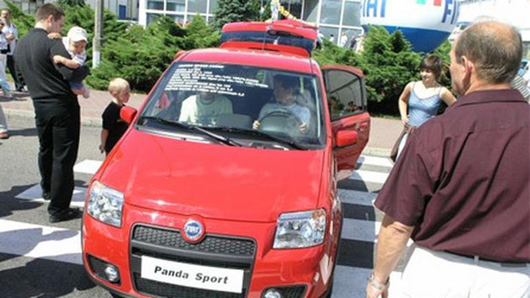 Fiat Panda Sport: mikroGTI z silnikiem 1,4 16V (100 KM)