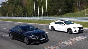 Ben Collins (Stig z Top Gear) czy Klaudia Podkalicka – kto szybszy za kierownicą Lexusa RC F na torze Poznań?