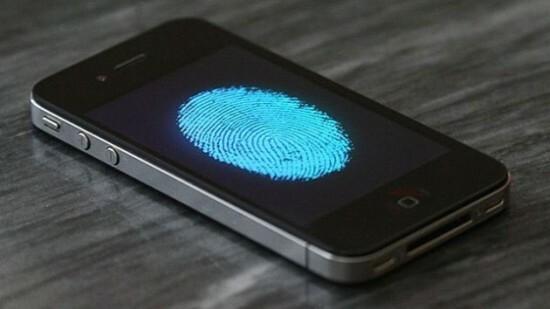 iPhone 5S - czytnik lini papilarnych