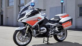 Ratunkowy motocykl BMW R1200RT na targach RETTmobil