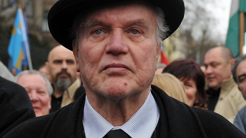 Csurka László 80 évesen is a toppon van: új bemutatóra készül, közben pedig 3 színházban is játszik / Fotó: MTI-Soós Lajos