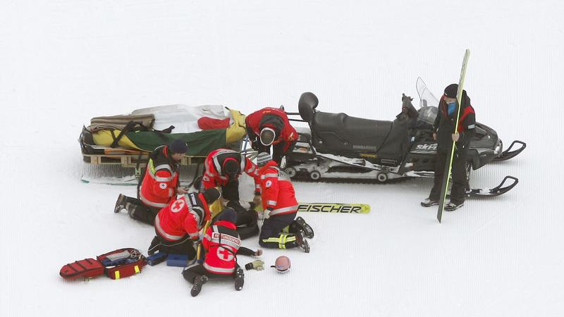 GERMANY SKI JUMP ACCIDENT