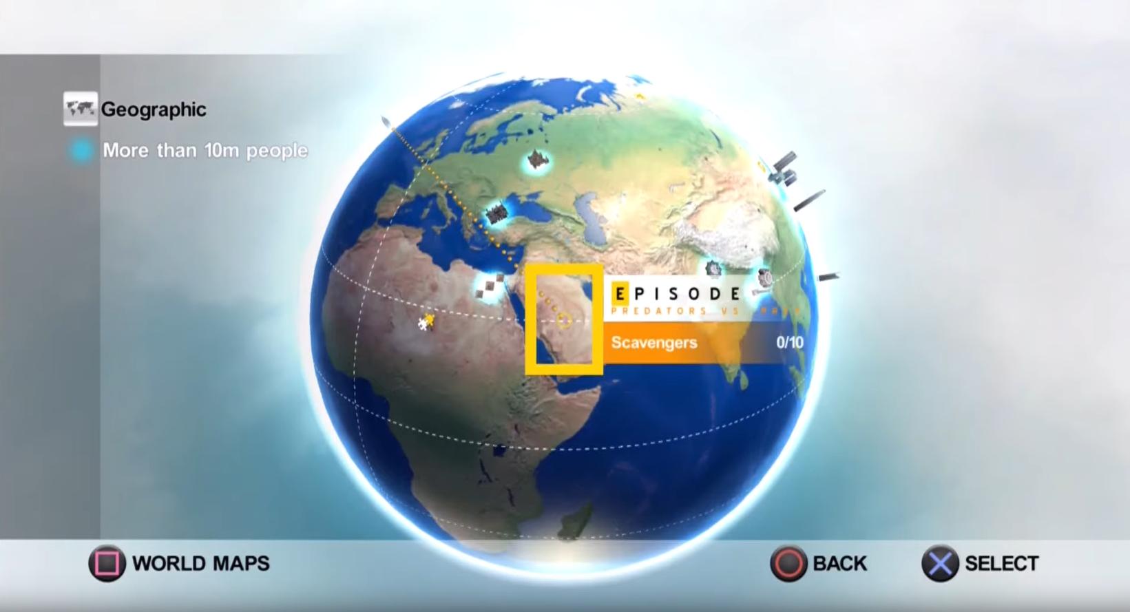 Ľubomír sa môže pochváliť aj prácou na hre pre National Geographic.