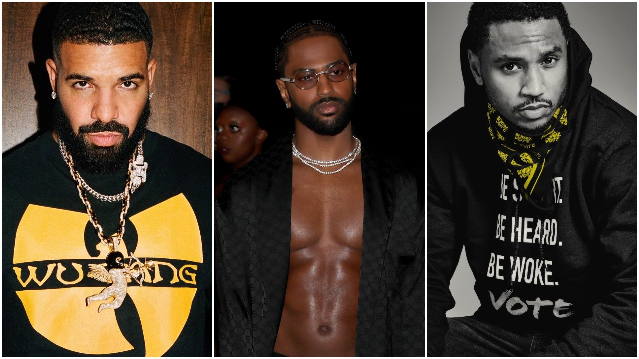 Drake and other international celebrities join the #EndSars protest in Nigeria [Instagram/ChampagnePapi] [Instagram/BigSean] [Instagram/TreySongz]