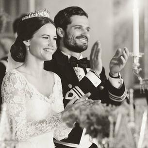 Piękna kreacja ślubna szwedzkiej księżnej!