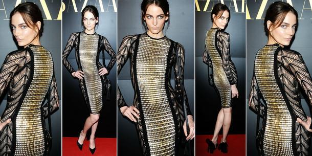 Best Look: Zuza Bijoch w sukience Julien MacDonald