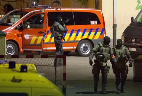 Hapšenje Abdeslama u Briselu