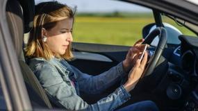 Bezpieczne strefy do SMS-owania na autostradzie
