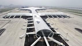 Lotnisko Shenzhen Bao'an otworzyło nowy, niezwykły terminal