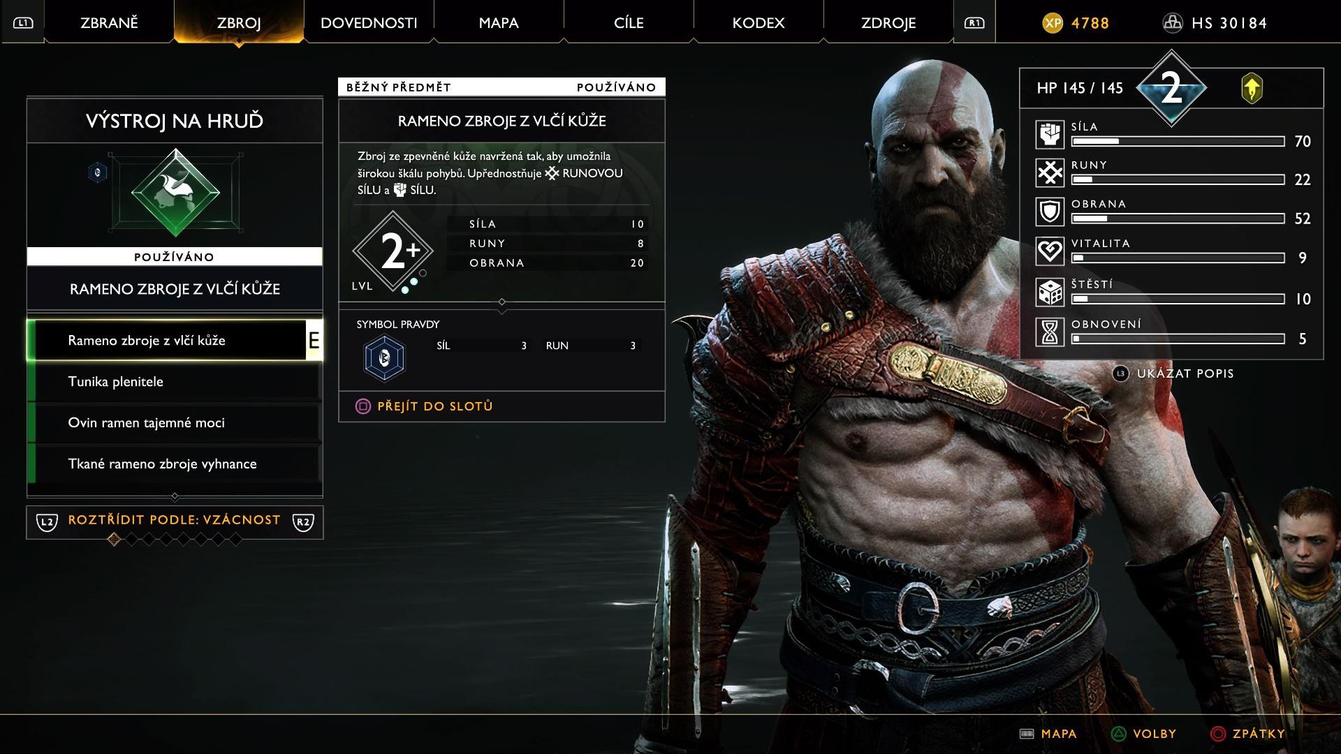 V hre nájdeme aj pomerne obšírny systém vylepšovania postavy