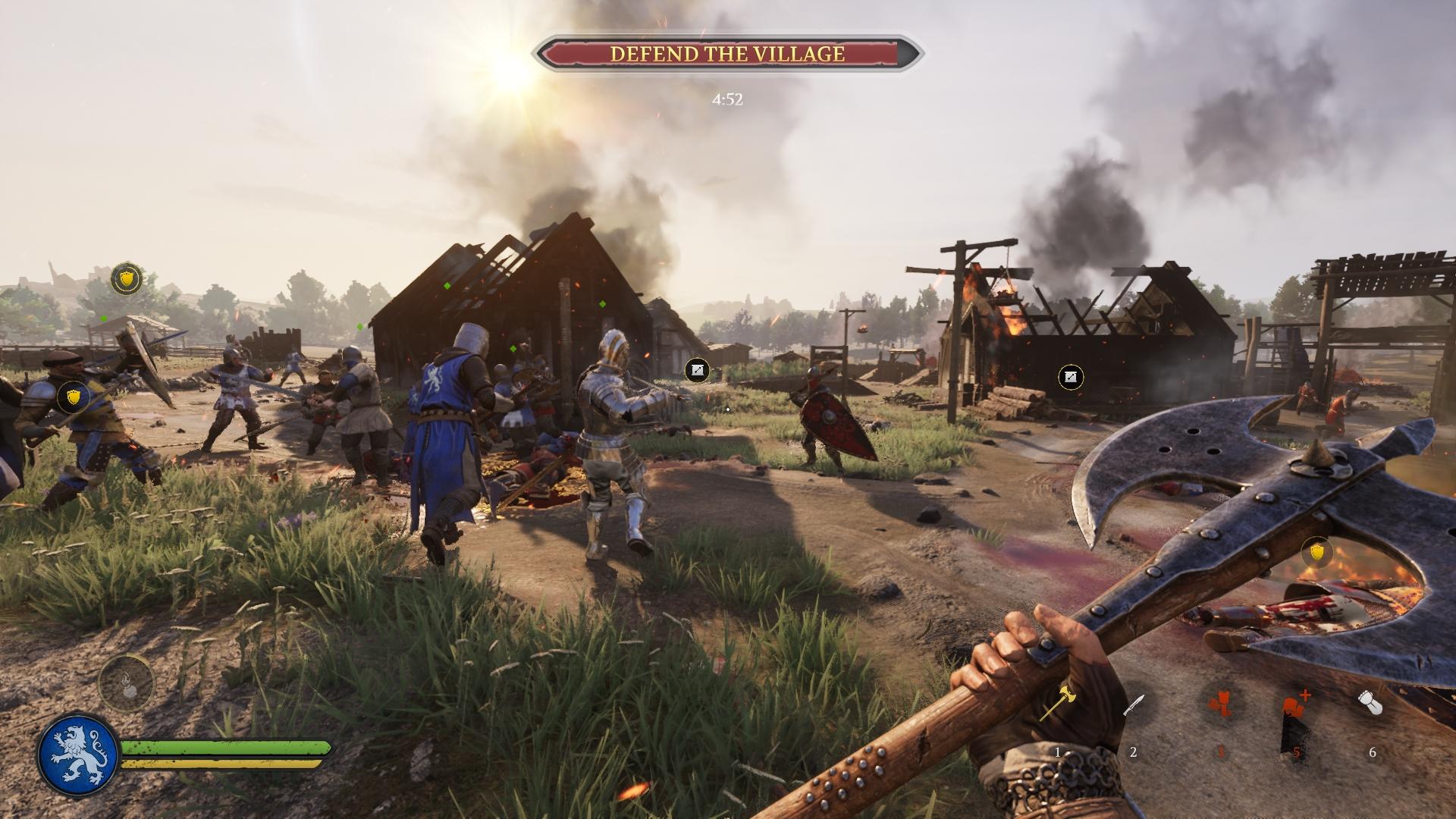 Každý hráč si nájde svoje preferované povolanie a výzbroj.