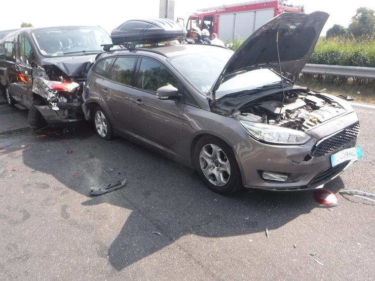 Teljes pályás útlezárás volt érvényben Siófok térségében a baleset miatt egészen 14 óra 35 percig /Fotó: Siófoki HTP