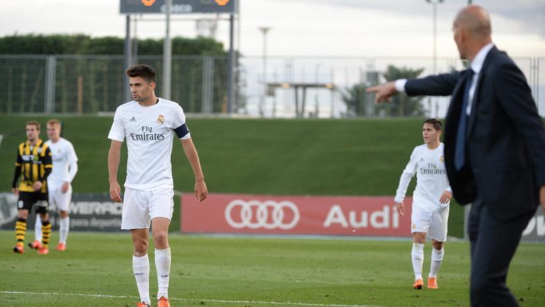 Tavaly még Zinedine Zidane volt fia edzője a második csapatnál /Fotó: AFP