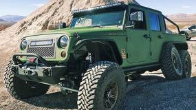 Bruiser Conversions 6x6 – sześciokołowy Jeep Wrangler