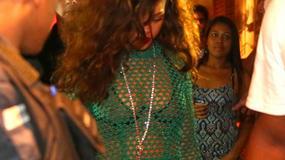 Rybacka sieć czy sukienka? Rihanna szokuje po raz kolejny