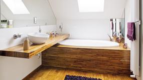 Drewno w łazience - trwałość i klasa