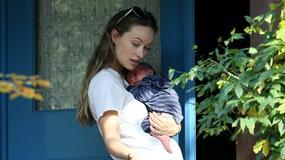 Olivia Wilde z nowonarodzoną córeczką