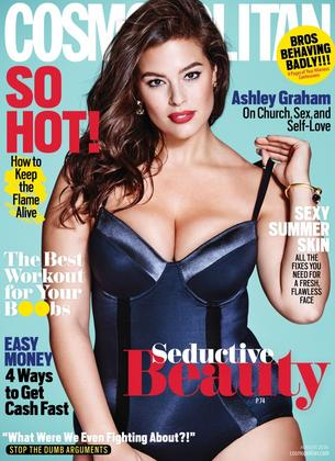 Ashley Graham gwiazdą nowego Cosmopolitan""