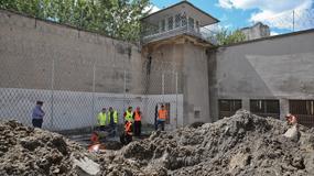 Warszawa: prace wykopaliskowe na terenie więzienia przy ul. Rakowieckiej