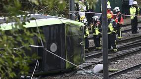 Wypadek tramwaju w Londynie. Kilku zabitych i dziesiątki rannych