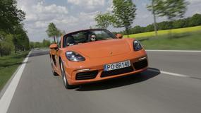 Porsche 718 Boxster S - mniej cylindrów, więcej mocy