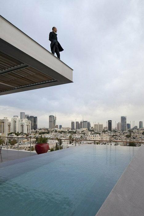 Nowoczesny penthouse z nietypowym widokiem na Tel Aviv