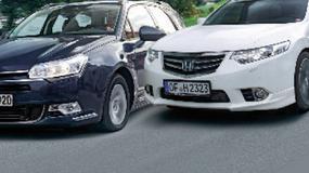 Citroen C5 kontra Honda Accord i Toyota Avensis: które kombi spodoba się rodzinie