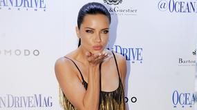 Adriana Lima w bardzo seksownej kreacji