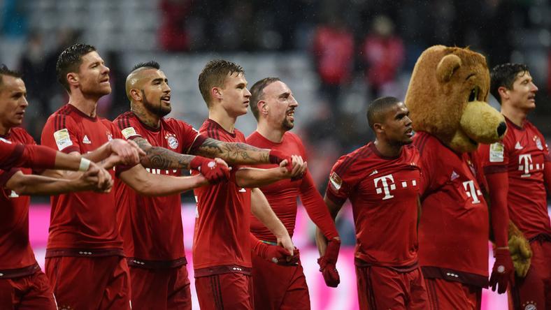 Nagy csatában jutott tovább a Bayern /Fotó: AFP